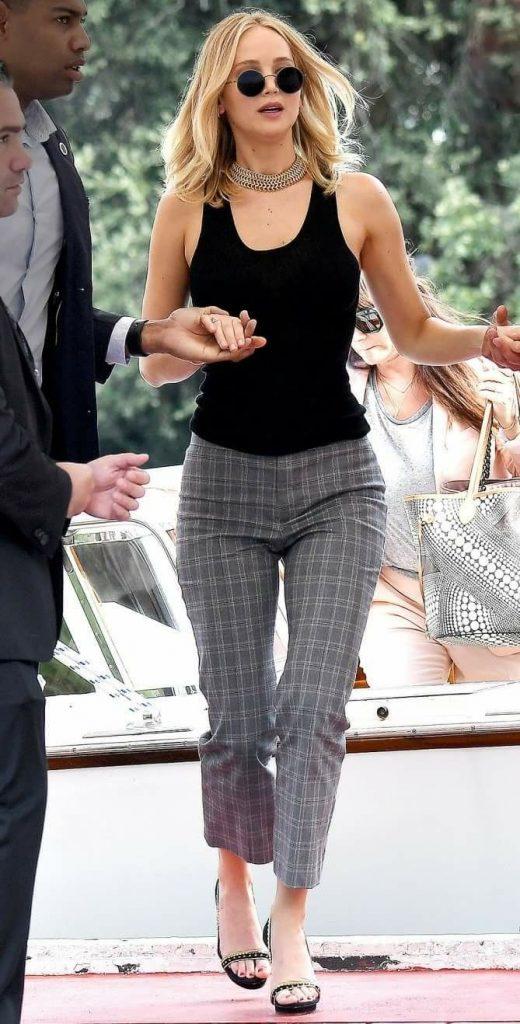 Jennifer Lawrence in Casual Streetwear