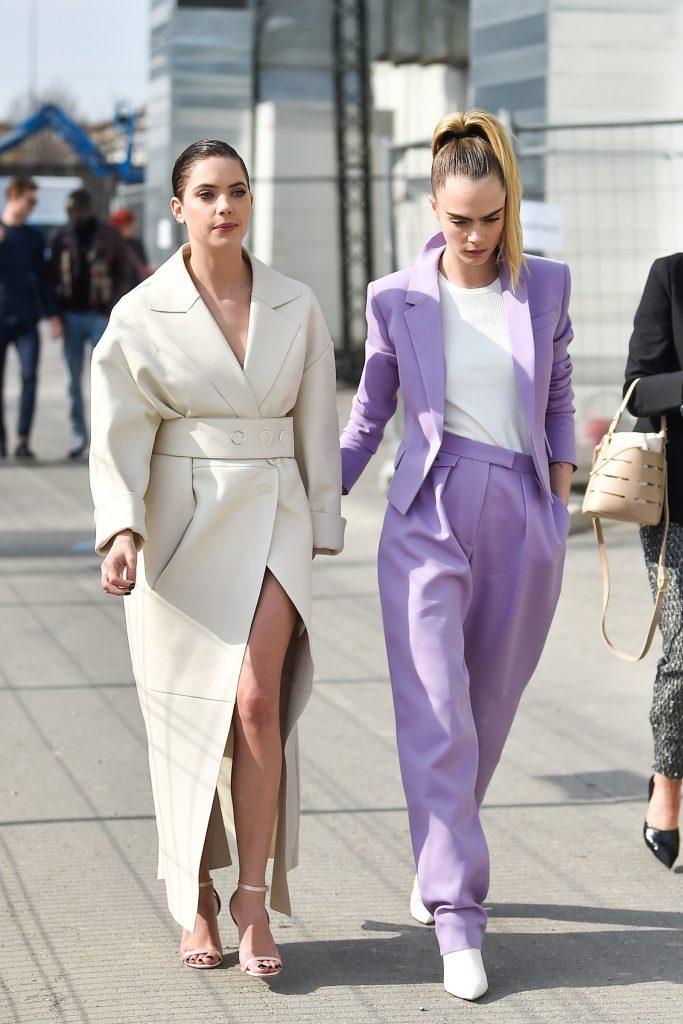 Cara Delevingne And Ashley Benson in Streetwear